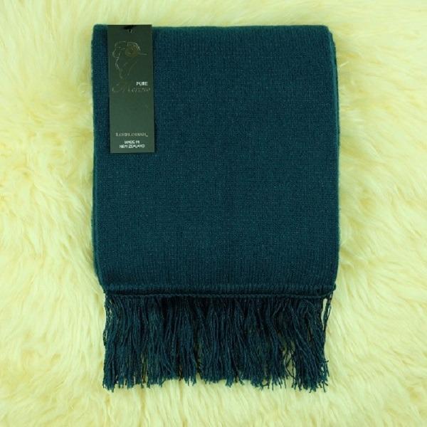深藍綠色紐西蘭美麗諾100%純羊毛圍巾 雙層厚款防寒保暖圍巾女圍巾男 保暖圍巾,純羊毛圍巾,羊毛圍巾,圍巾,羊毛圍巾推薦