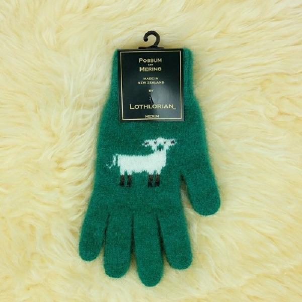 羊咩咩【翡翠綠】紐西蘭貂毛羊毛手套保暖手套 高保溫輕量男用手套女用手套 羊毛手套,保暖手套,防寒手套,手套男,手套女