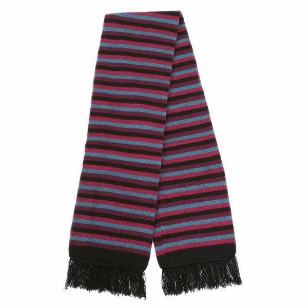 多彩條紋【寶石】雙層紐西蘭貂毛羊毛圍巾 保暖圍巾男用女用 圍巾,保暖,保暖圍巾,羊毛圍巾