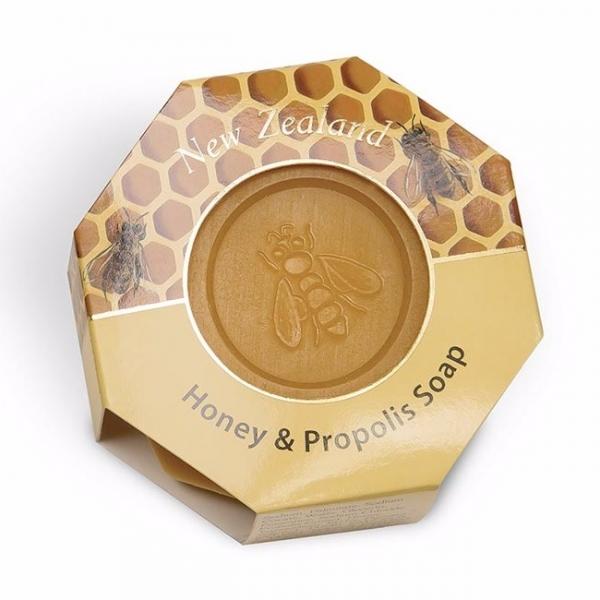 紐西蘭Manuka蜂蜜蜂膠深層淨化清潔皂140g 香皂,蜂蜜皂