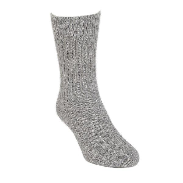 銀灰色紐西蘭貂毛羊毛襪*柔暖超質感休閒襪 保暖襪,毛襪,羊毛襪,保暖羊毛襪