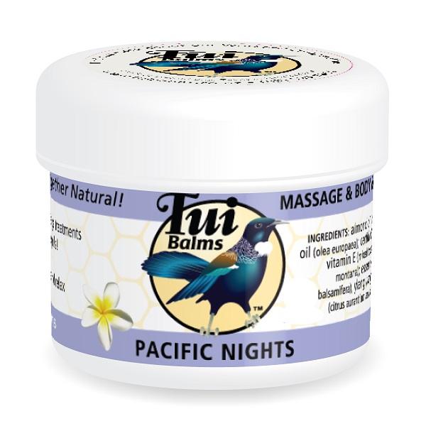 Tui Balms植物精油按摩膏50g太平洋之夜(檀香依蘭茉莉橙花) 保濕,精油按摩,身體乳液,檀香精油,橙花