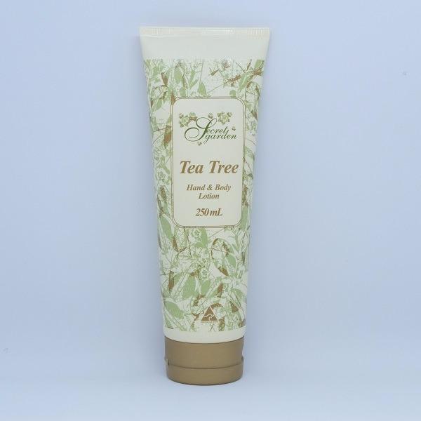 秘密花園茶樹精油身體乳液250ml(含乳油木果油) 身體乳液,護手霜