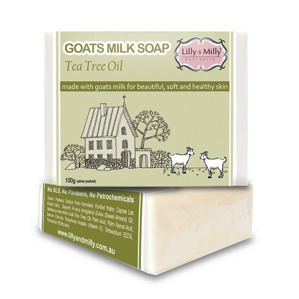 Lilly&Milly澳洲羊奶皂(澳洲茶樹)100g