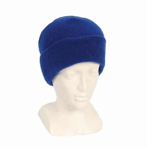寶藍100%紐西蘭純美麗諾羊毛帽 雙層純羊毛保暖帽登山帽男用女用 羊毛帽,保暖帽,登山帽,毛線帽
