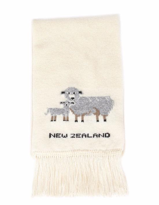 羊咩咩【米白】紐西蘭美麗諾100%純羊毛圍巾 雙層厚款防寒保暖圍巾女圍巾男 圍巾,羊毛圍巾推薦,保暖圍巾,純羊毛圍巾,羊毛圍巾