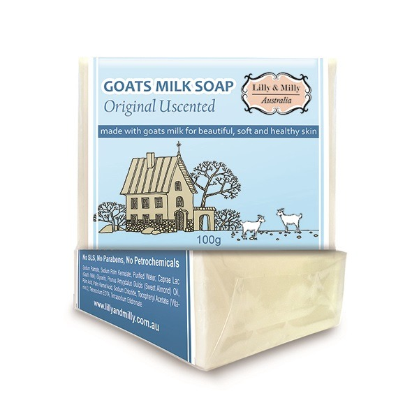 Lilly&Milly澳洲羊奶皂(無香味)100g