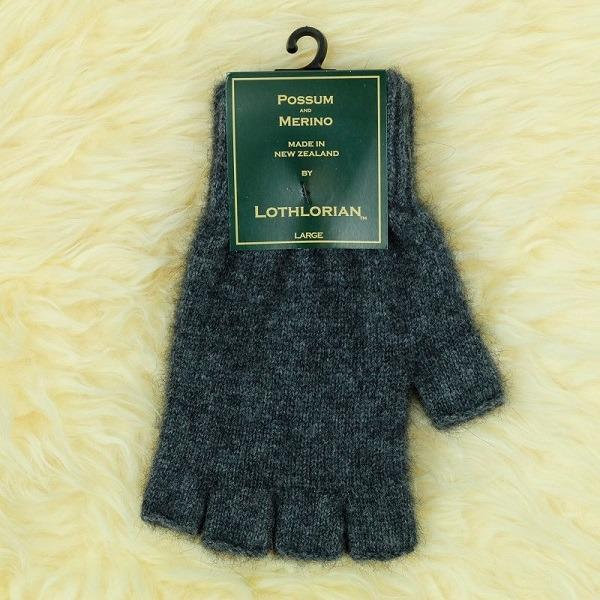 【炭灰】紐西蘭貂毛羊毛手套保暖露指手套 男用女用保溫輕量半指手套保暖 保暖手套,羊毛手套,半指手套 保暖,露指手套 男,露指手套