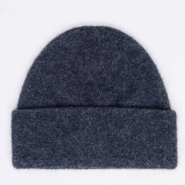 紐西蘭貂毛羊毛帽*炭灰色*雙層保暖帽男用女用 保暖帽,保暖帽男,保暖帽女,羊毛帽