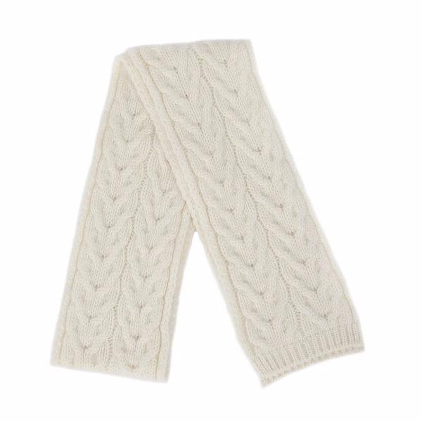 米白色紐西蘭美麗諾100%純羊毛圍巾麻花粗針織 毛線編織手織感保暖圍巾女圍巾男 圍巾,羊毛圍巾推薦,保暖圍巾,純羊毛圍巾,羊毛圍巾