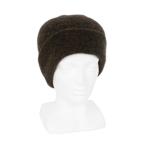 紐西蘭貂毛羊毛帽*棕褐色*雙層保暖帽男用女用 保暖帽,保暖帽男,保暖帽女,羊毛帽