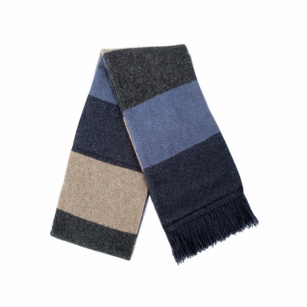 多彩色塊【水藍】雙層紐西蘭貂毛羊毛圍巾 特長220公分保暖圍巾男用女用 圍巾,羊毛圍巾,圍巾推薦品牌,保暖圍巾,圍巾男