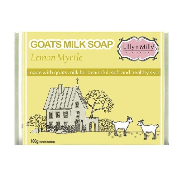 Lilly&Milly澳洲羊奶皂(檸檬桃金孃)100g