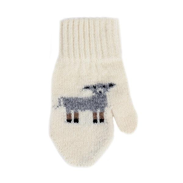 紐西蘭100%純羊毛手套*兒童款*米白色(羊咩咩) 羊毛手套,純羊毛手套,保暖手套,保暖 手套 推薦,手套 兒童