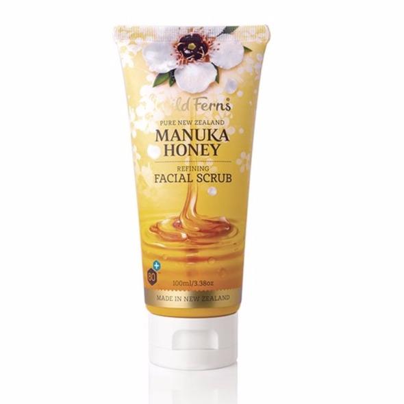麥蘆卡蜂蜜舒緩保濕臉部去角質霜100ml 去角質,毛孔,臉部去角質
