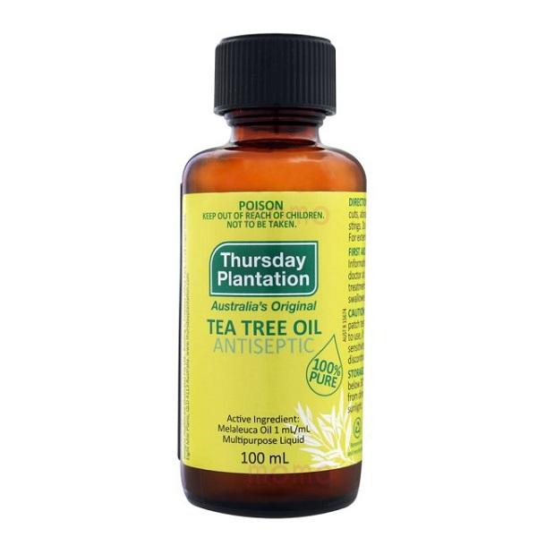 澳洲星期四農莊純茶樹精油TeaTree100ml 茶樹精油,防蚊,茶樹,澳洲茶樹