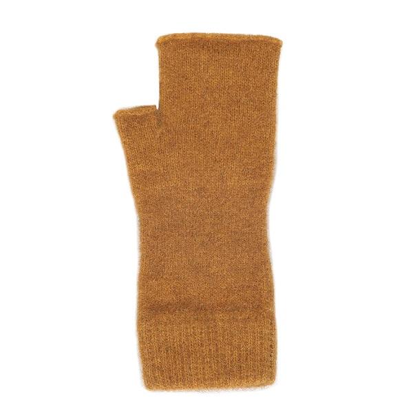 金色紐西蘭貂毛羊毛袖套手套 保暖露指手套-美型袖套造型女用手套 保暖手套,袖套,羊毛手套,露指手套