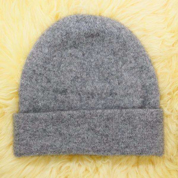 紐西蘭貂毛羊毛帽*銀灰色*雙層保暖帽男用女用 毛帽,保暖帽,羊毛帽,保暖帽推薦,保暖帽登山