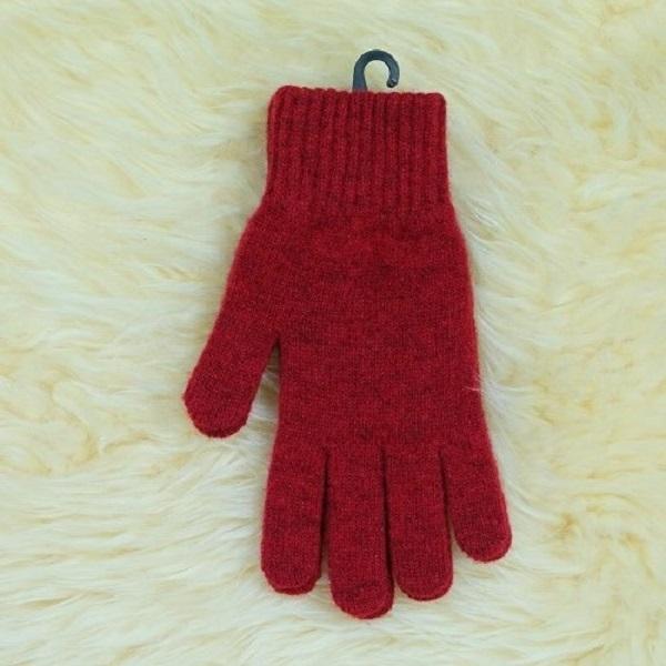 深紅色男用女用紐西蘭美麗諾純羊毛手套 登山旅遊居家外出保暖手套推薦 羊毛手套,純羊毛手套,保暖手套,保暖 手套 推薦,防寒手套