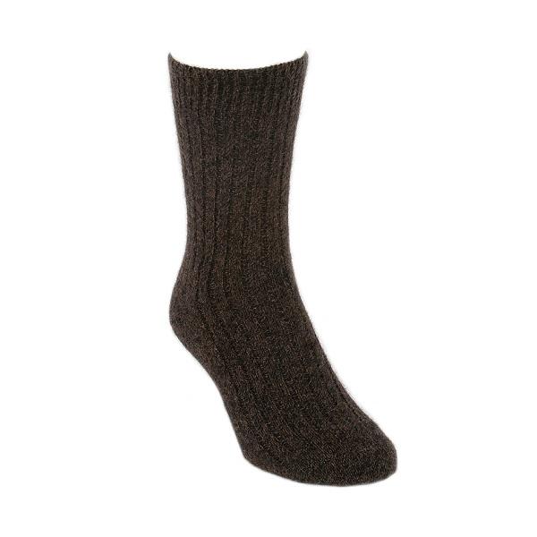 棕褐色紐西蘭貂毛羊毛襪*柔暖超質感休閒襪 保暖襪,毛襪,羊毛襪,保暖羊毛襪
