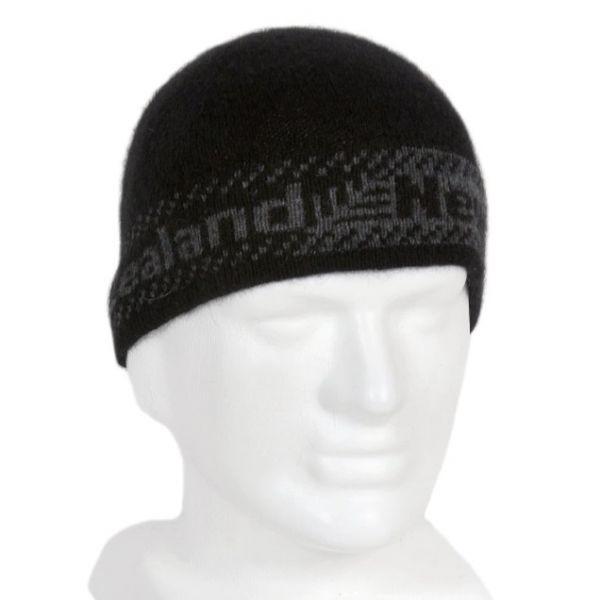 單層薄款蕨葉紐西蘭貂毛羊毛帽保暖帽男用女用