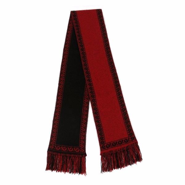 雙面銀蕨紐西蘭貂毛羊毛圍巾 雙層保暖圍巾男用女用-深紅X黑色 圍巾,圍巾推薦品牌,保暖圍巾,羊毛圍巾