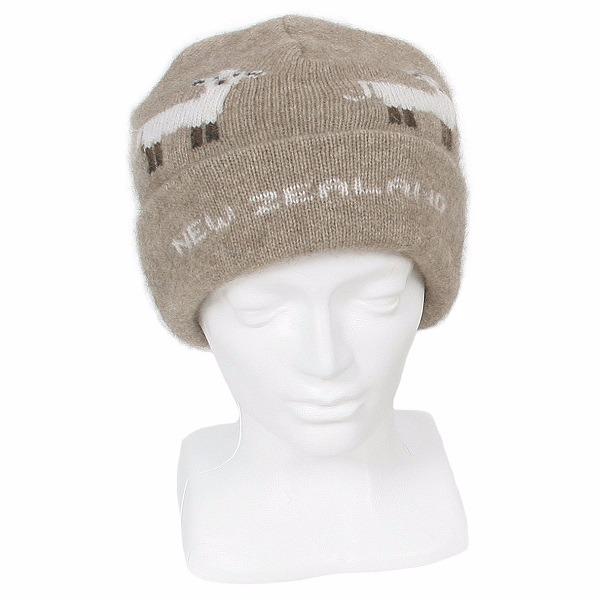 羊咩咩紐西蘭貂毛羊毛帽保暖帽 雙層厚款-男用女用-奶茶色 羊毛帽,登山保暖帽推薦,保暖帽,防寒保暖帽,雪地帽