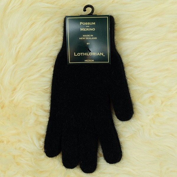 【黑色】紐西蘭貂毛羊毛手套保暖手套 高保溫輕量男用手套女用手套 羊毛手套,保暖手套,防寒手套,手套男,手套女