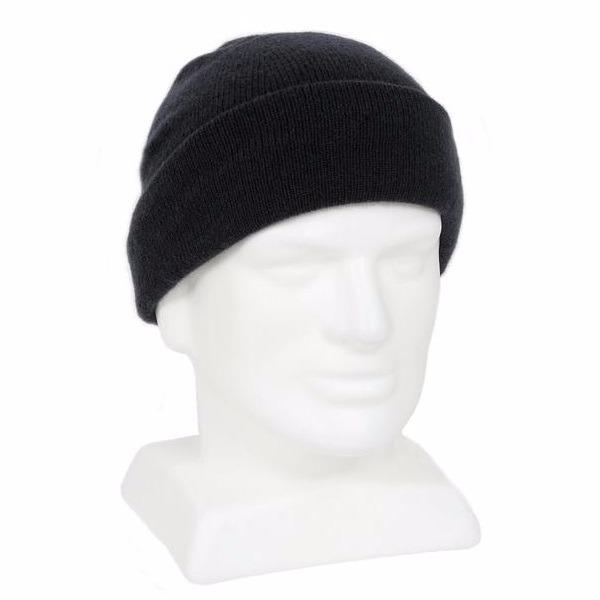 黑色100%紐西蘭純美麗諾羊毛帽 雙層純羊毛保暖帽登山帽男用女用 羊毛帽,保暖帽,登山帽,毛線帽,羊毛配件