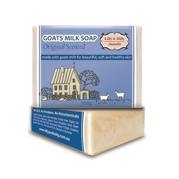 Lilly&Milly澳洲羊奶皂(有香味)100g