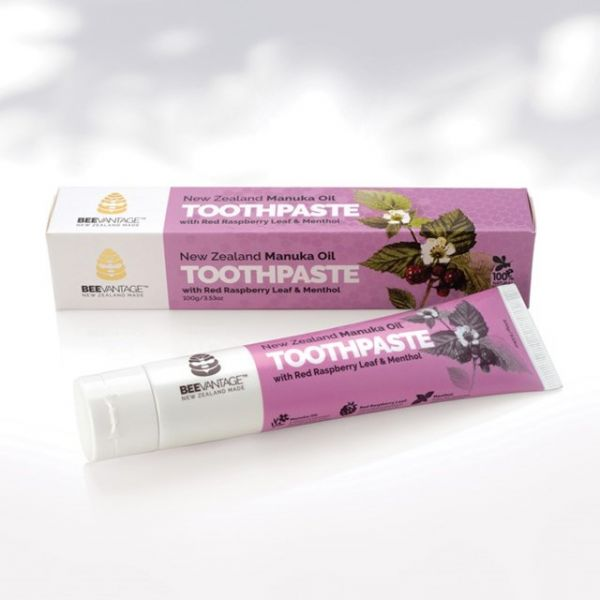 麥蘆卡茶樹精油&覆盆莓薄荷清新牙膏100g