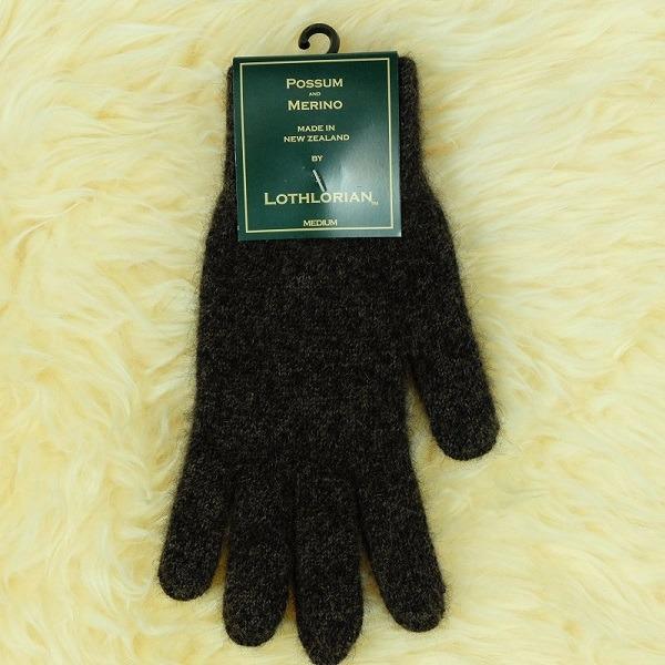 【棕褐】紐西蘭貂毛羊毛手套保暖手套 高保溫輕量男用手套女用手套 羊毛手套,保暖手套,防寒手套,手套男,手套女
