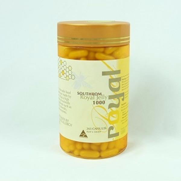 澳洲Southrom蜂王乳(蜂王漿)膠囊食品365顆 蜂王乳,蜂王漿,蜂王乳膠囊,蜂王漿膠囊,澳洲蜂王乳