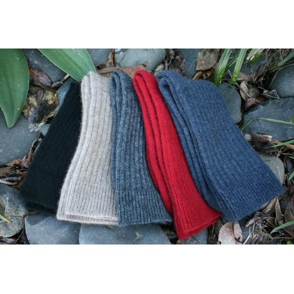 深紅色紐西蘭貂毛羊毛襪*柔暖超質感休閒襪 保暖襪,毛襪,羊毛襪,保暖羊毛襪