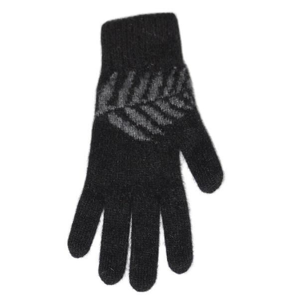 蕨葉紐西蘭貂毛羊毛手套保暖手套 羊毛手套,保暖手套,防寒手套,手套男,手套女