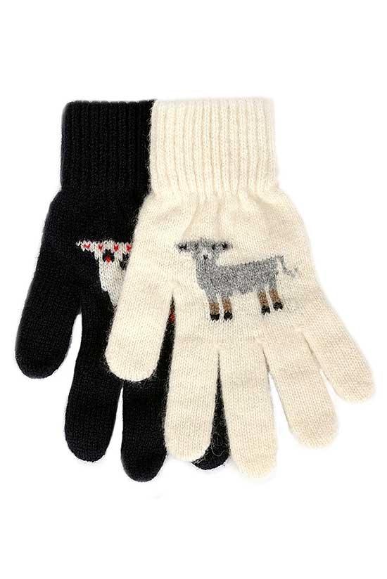 羊咩咩【米白】紐西蘭美麗諾純羊毛手套 保暖手套推薦男用女用登山旅遊居家外出 羊毛手套,純羊毛手套,保暖手套,保暖 手套 推薦