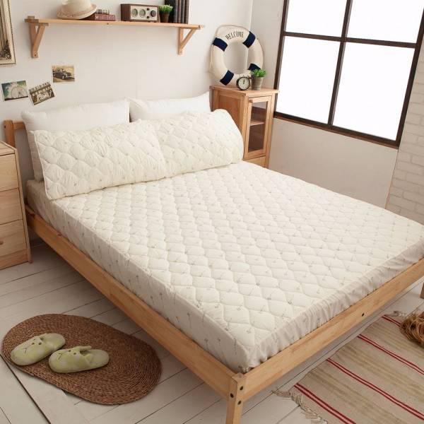 Ally 西崎 雙人加大床包式天然抗菌保潔墊 Ally 西崎 雙人加大床包式天然抗菌保潔墊