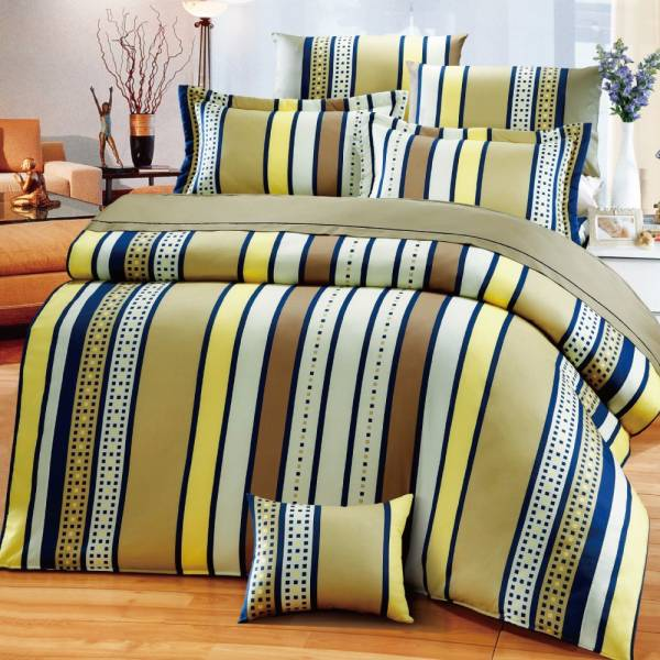 Ally 西崎雙人加大七件式元素小樽床罩組 Ally 西崎雙人加大七件式元素小樽床罩組