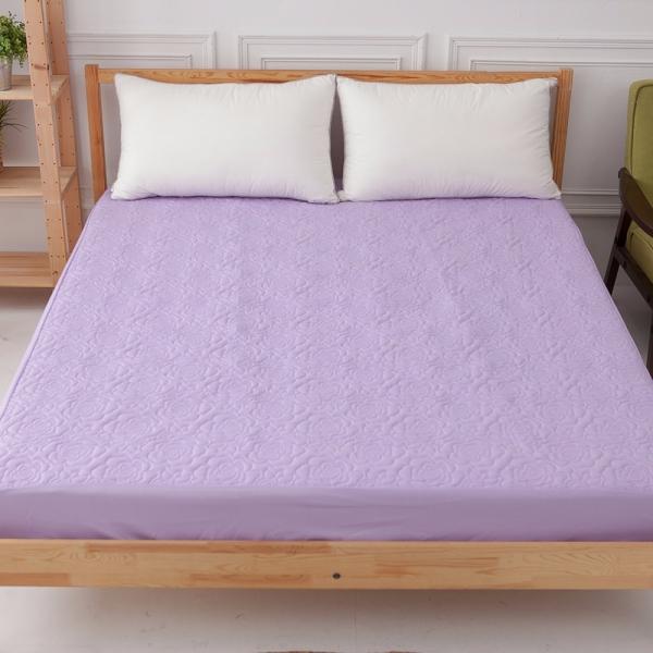 Ally 單人床包式杜邦防潑水紫色保潔墊 Ally 單人床包式杜邦防潑水紫色保潔墊
