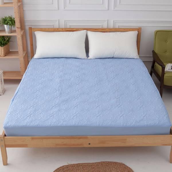 Ally 單人床包式杜邦防潑水藍色保潔墊 Ally 單人床包式杜邦防潑水藍色保潔墊
