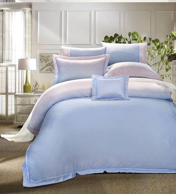 西崎 天絲 幸福彩菱 天絲七件式床罩組-雙人加大
