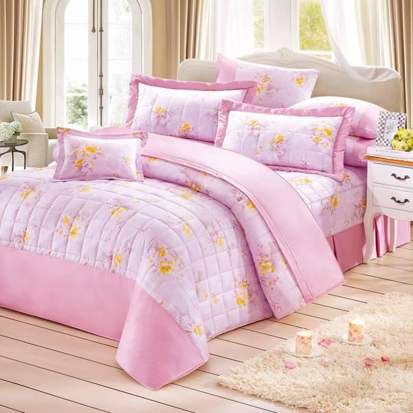Ally 西崎淡雅戀情雙人純棉七件式床罩組 Ally 西崎淡雅戀情雙人純棉七件式床罩組