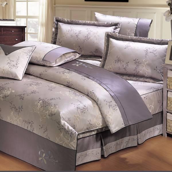 Ally 西崎經典葉語雙人純棉七件式床罩組 Ally 西崎經典葉語雙人純棉七件式床罩組