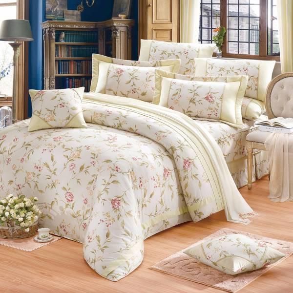 Ally 西崎浪漫邂逅雙人純棉七件式床罩組 Ally 西崎浪漫邂逅雙人純棉七件式床罩組