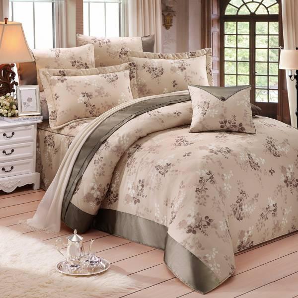 Ally 西崎花蔓物語雙人純棉七件式床罩組 Ally 西崎花蔓物語雙人純棉七件式床罩組