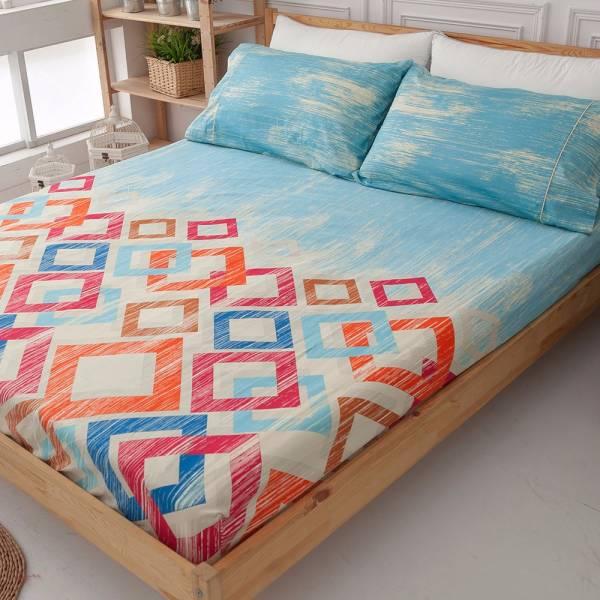 Ally 西崎李記方塊酥雙人加大純棉三件式床包組 Ally 西崎李記方塊酥雙人加大純棉三件式床包組