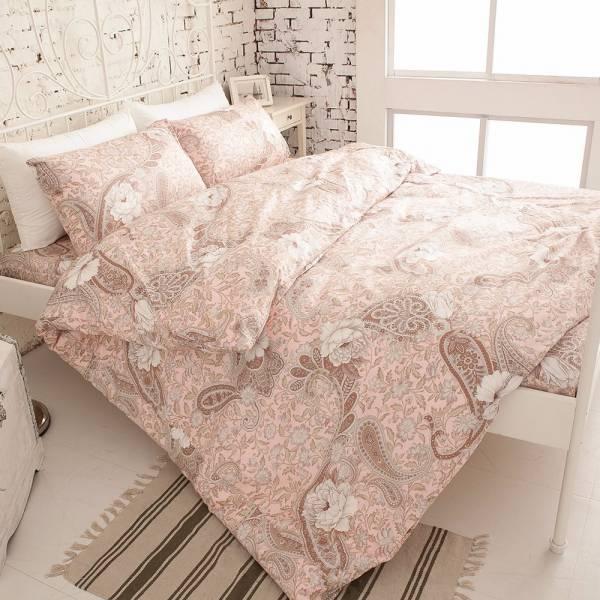 Ally 菲夢絲瑩花圍繞雙人加大純棉四件式床包被套組 Ally 菲夢絲瑩花圍繞雙人加大純棉四件式床包被套組