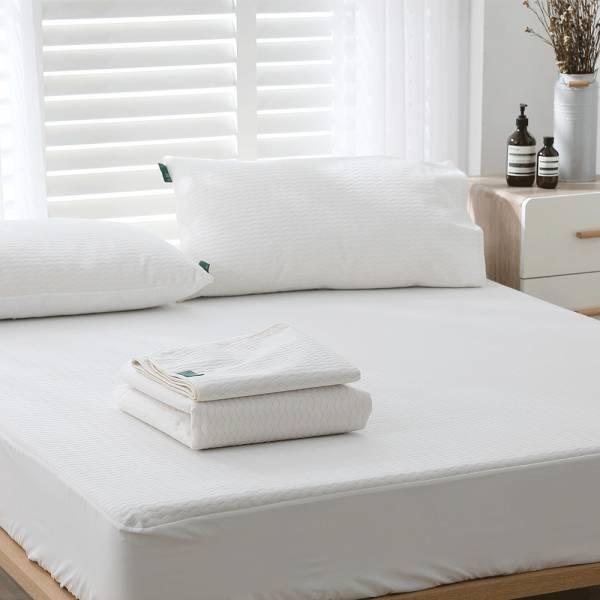 【 好關係 HAOKUANXI 】床包式保潔墊 好關係, HAOKUANXI, haokuanxi, 寢具, 床包, 被套, 枕頭, 棉被, 保潔墊, MIT, 台灣製造, 3D立體瞬吸棉柔布