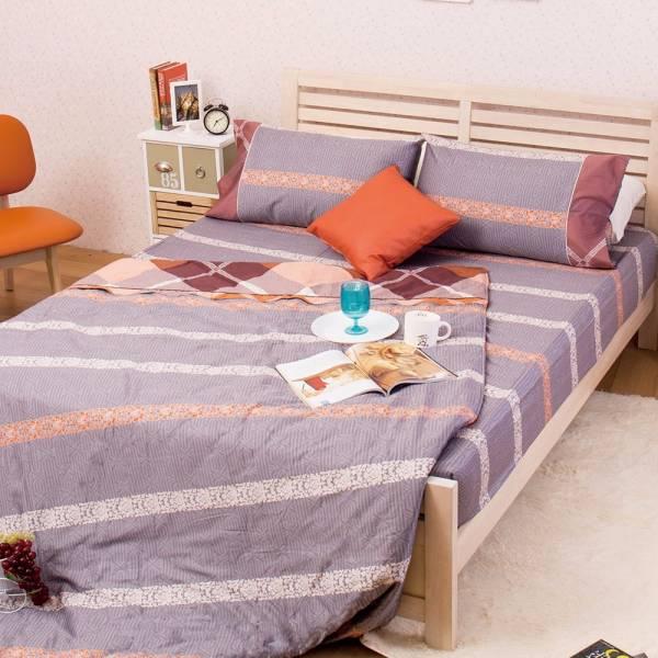 Ally 西崎雙人四件式睿士格60支長純棉床包兩用被組 Ally 西崎雙人四件式睿士格60支長純棉床包兩用被組