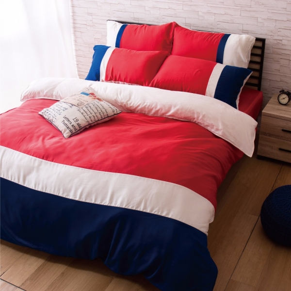 Ally 雙人四件式日落巴黎天絲床包兩用被組 Ally 雙人四件式日落巴黎天絲床包兩用被組